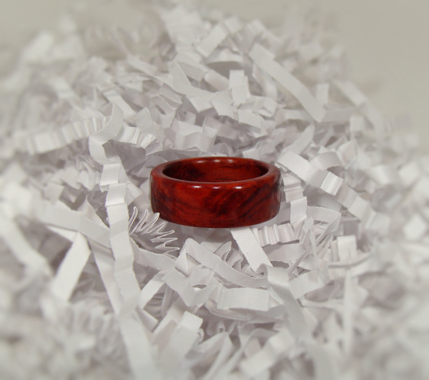Redheart Solid Wood Ring - Art and Soule