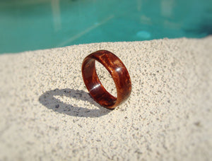 Bronze Pearl Acrylic Resin Ring - Art and Soule