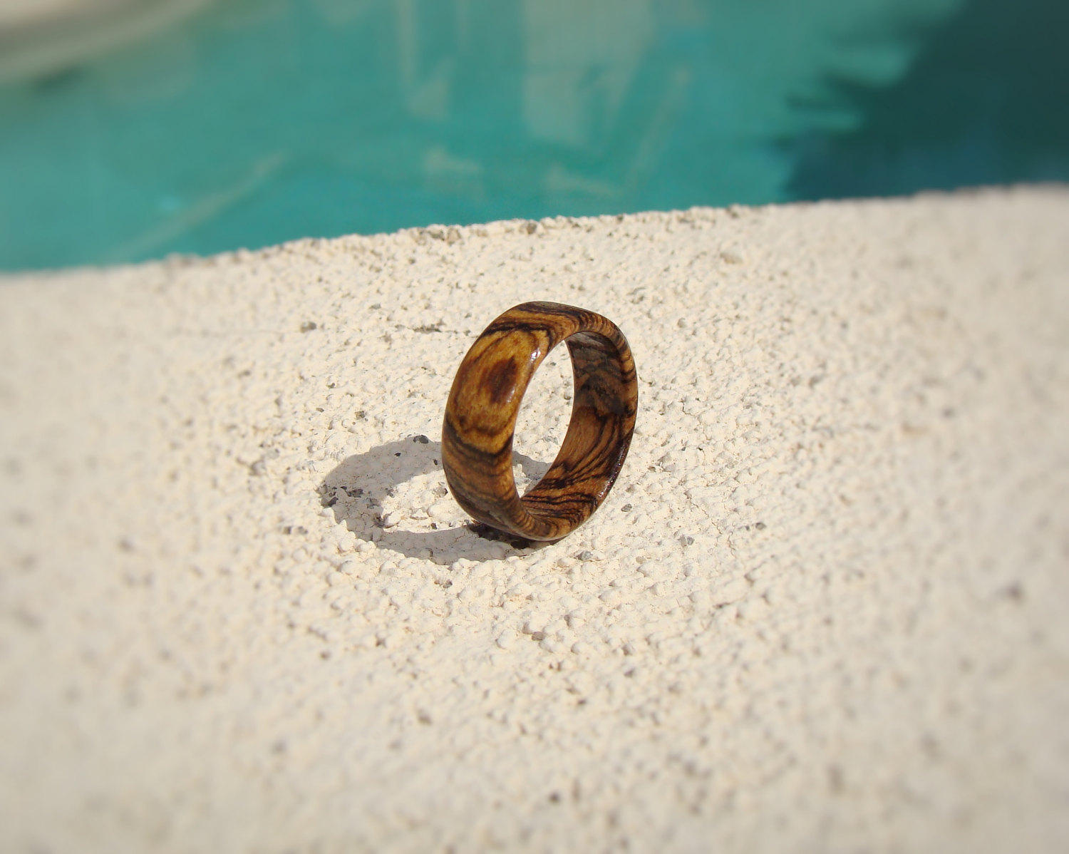 Bocote Solid Wood Ring - Art and Soule