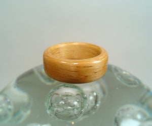 Hickory Bentwood Wood Ring - Art and Soule