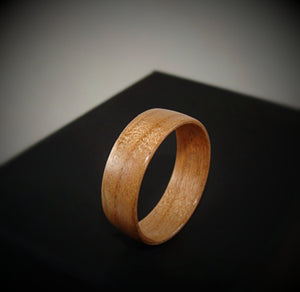 Cherry Bentwood Wood Ring - Art and Soule