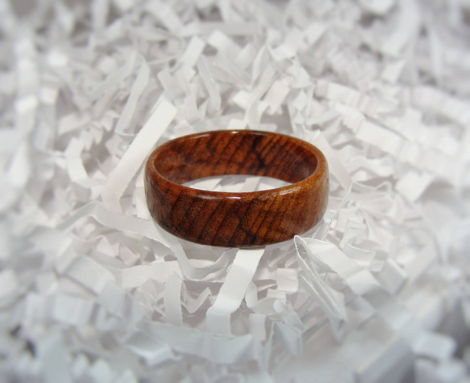 Tea Tree Solid Wood Ring - Art and Soule