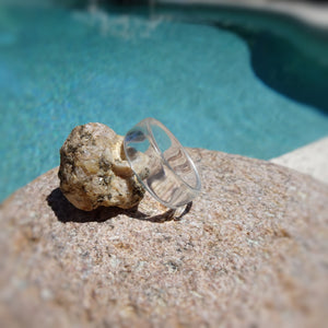Clear Acrylic Resin Ring - Art and Soule