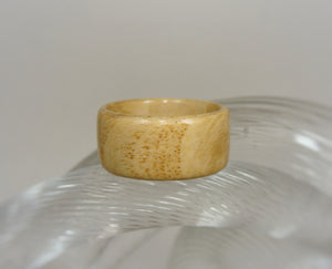 Olive Ash Burl Bentwood Wood Ring - Art and Soule