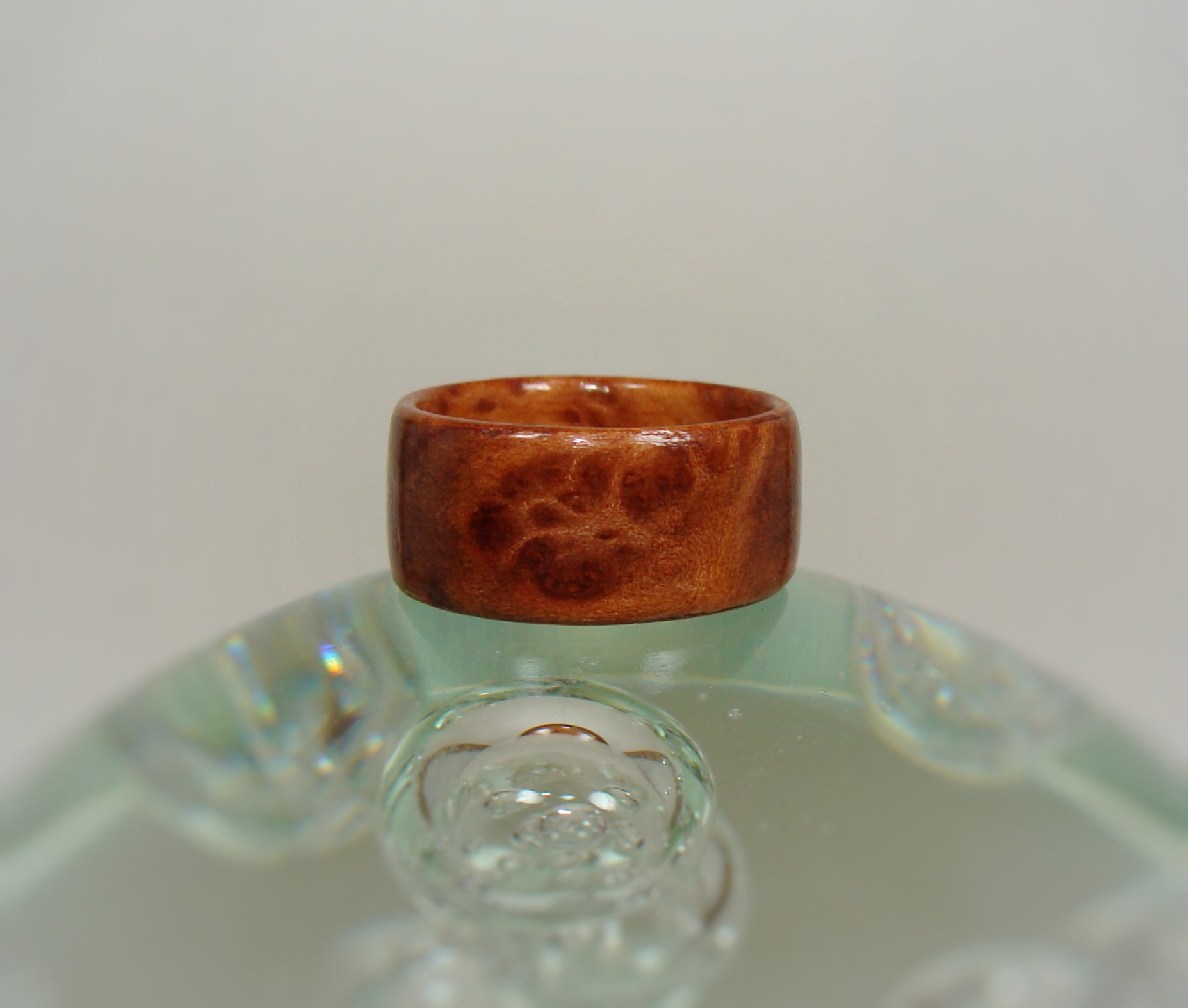 Redwood Burl Bentwood Wood Ring - Art and Soule