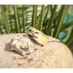 Spalted Tamarind Bentwood Wood Ring - Art and Soule