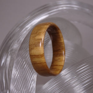 Olive Wood Solid Wood Ring - Size 11.75 - Clearance Ring - Art and Soule