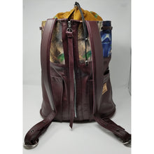 Wicked Bad Ass Leather Handmade Burgundy Backpack - Ella Leather