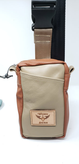 Men's Leather Crossbody Bag - Ella Leather