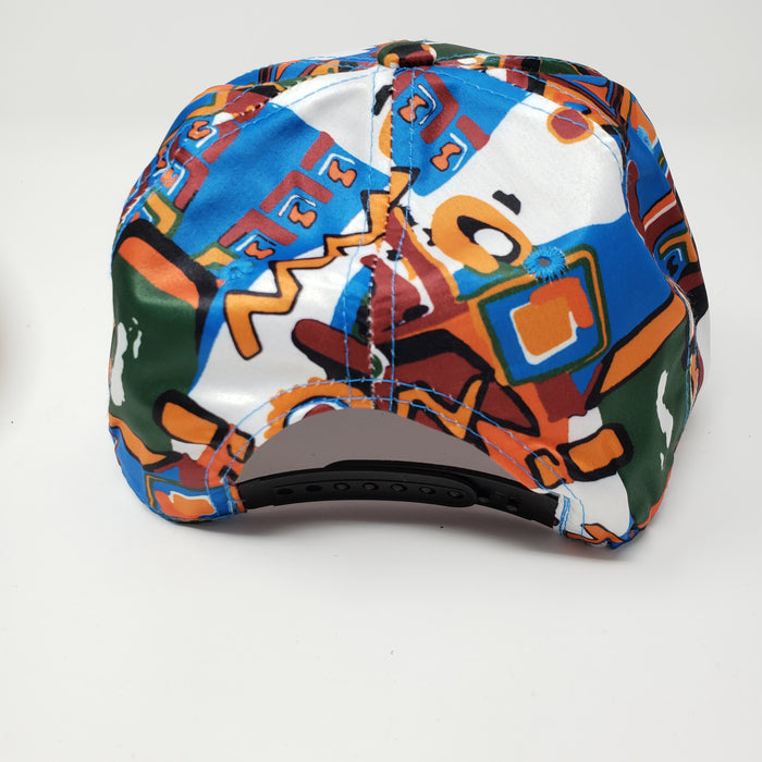 Colorful and Wicked Bad Ass Trucker Hat - Ella Leather