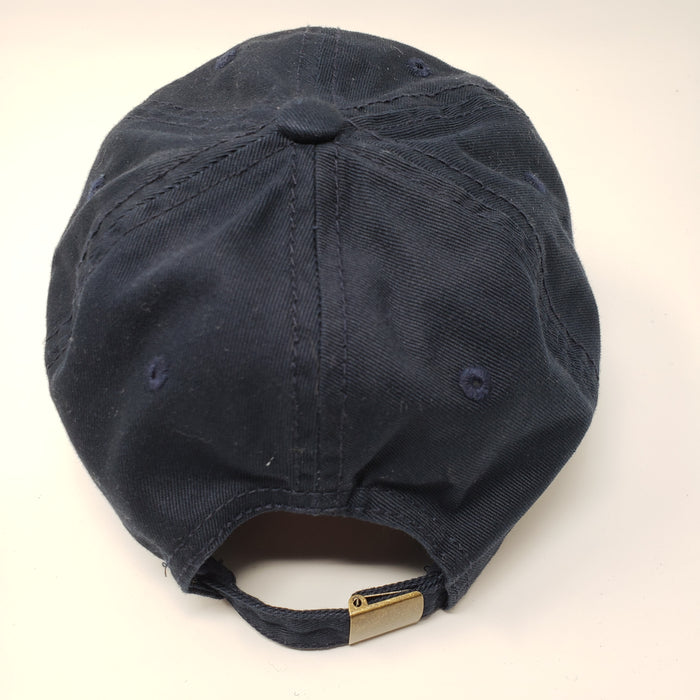 Wicked Bad Ass Basball Hat Navy Blue - Ella Leather