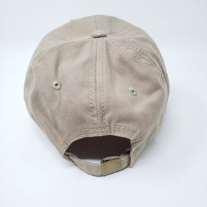 Wicked Had Ass Baseball Hat Beige - Ella Leather