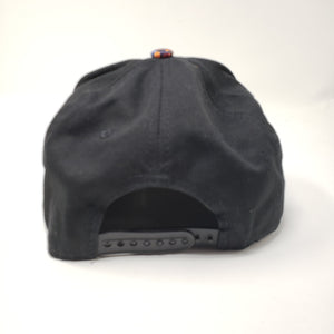Wicked Bad Ass Trucker Hat Flat Bill Black - Ella Leather