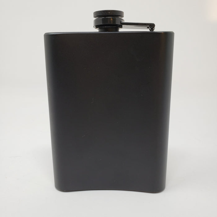 Wicked Bad Ass Whiskey Flask - Ella Leather