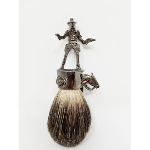 John Wayne Hematite Best Badger Cowboy - Ella Leather