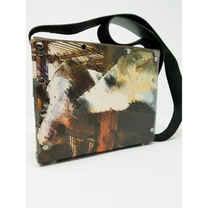 A Horse is of Course Overlay Purse, Handmade US Artist Susan Provda for Ella Leather - Ella Leather