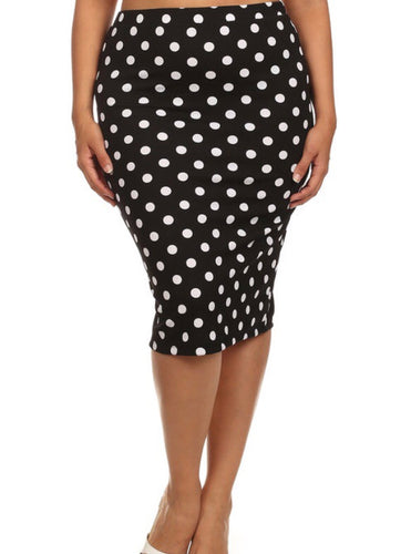 Dottie Pencil Skirt XL-XXXL