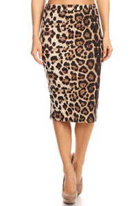 Wildcat Pencil Skirt S-XXXL
