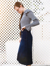 "The ""Saylor"" Denim Skirt"