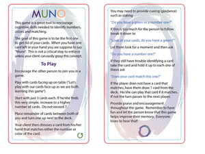 MUNO - Matching fun for everyone!