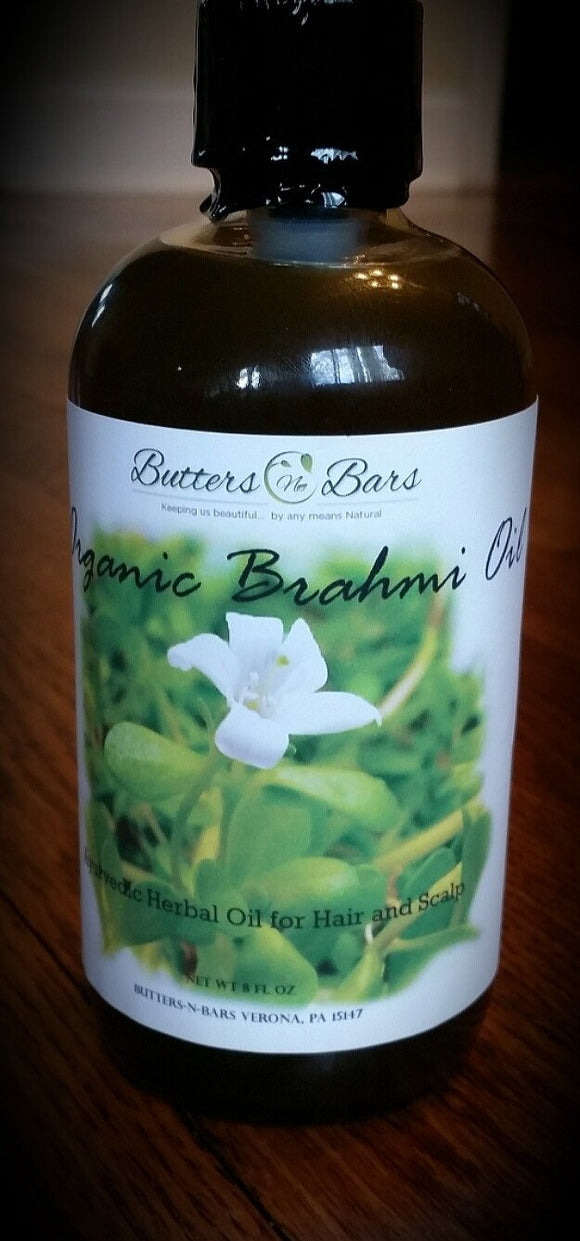 Organic Brahmi Hair Oil (8.5 fl oz)