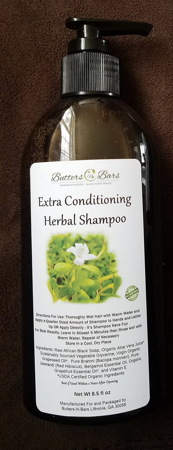 Extra Conditioning Herbal Shampoo 8.5 fl oz