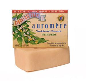 Ayurvedic Sandalwood-Tumeric Soap 2.75oz bar