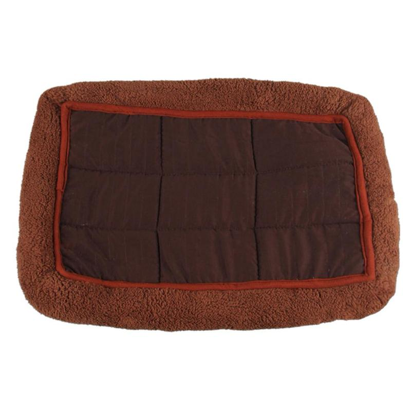 Soft Cashmere Kennel Pet Bed Cushion in 3 Colors