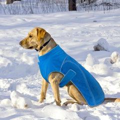 Soft Warm Fleece Winter Pet Jacket with Reflective Lining in 3 Colors
