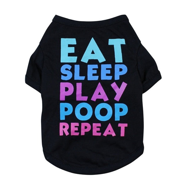 Eat Sleep Play Poop Repeat t-shirt