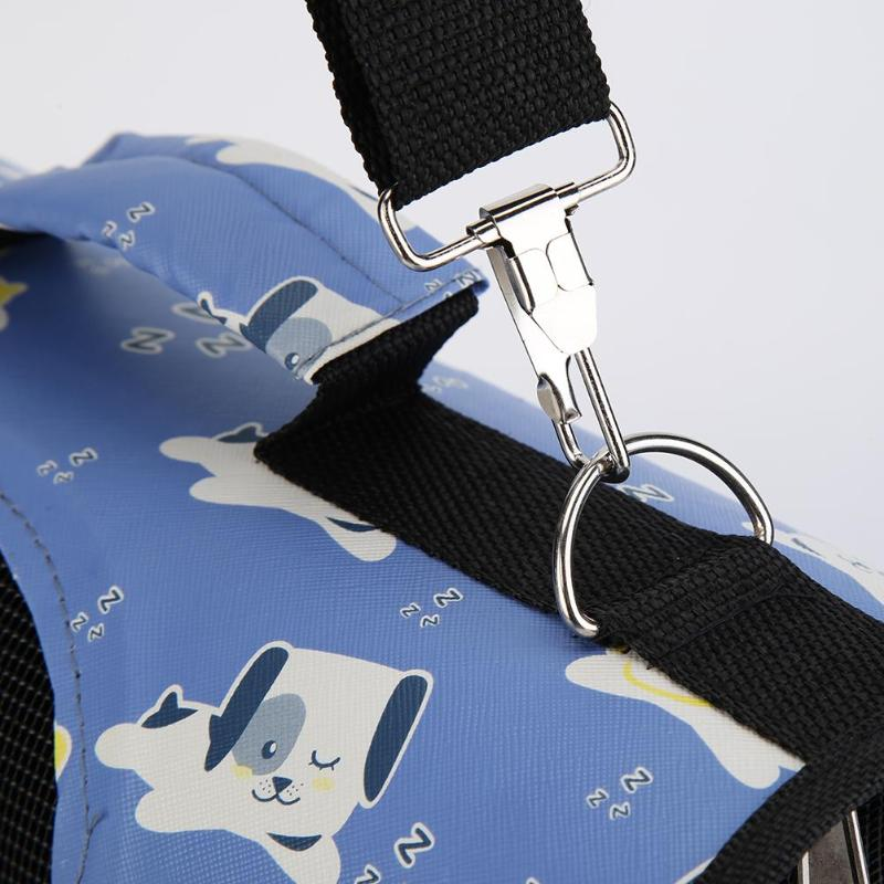 Cartoon Pet Cat/Dog Foldable Shoulder Carrier