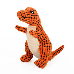 Dinosaur Shape Pet Chew Toys in 3 Colors