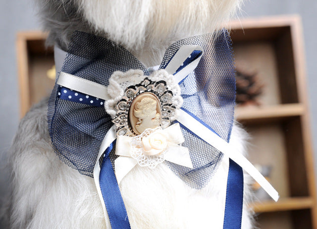 Fabulous Bowtie Collars in 4 Styles