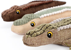 Alligator Chew Toys in 3 Great Colors
