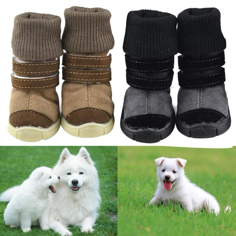 Winter Warm Snow Boots in Black or Brown - 5 Sizes