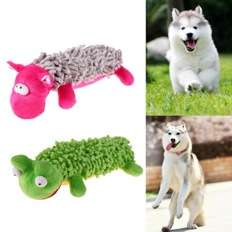 Animal Shape Squeaky Plush Toy