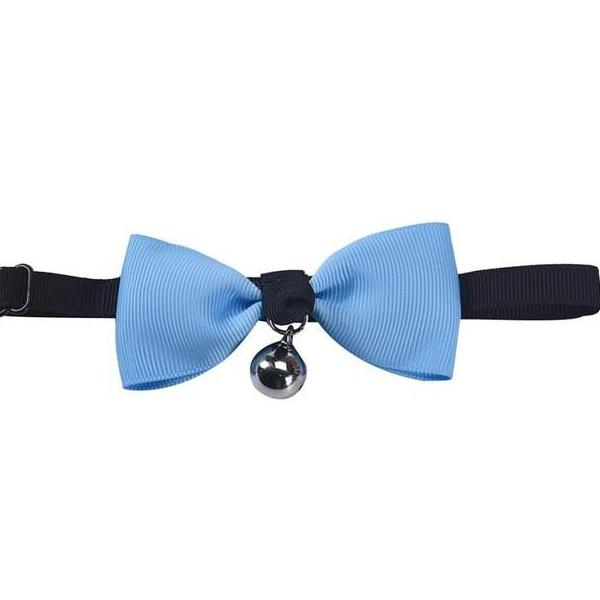 Adjustable Bow Tie with Bell Collar in 7 Colors