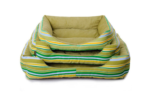 Striped Colorful Pet Beds in 4 Colors