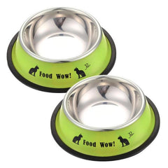 Cat Lovers Stainless Steel Feeding Bowls in 3 colors - Anti-Skid
