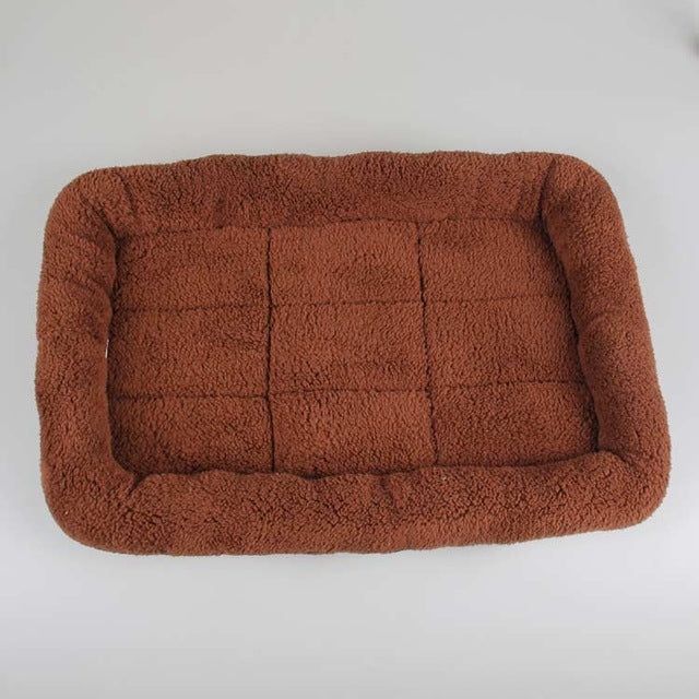 Soft Square Pet Bed Cushion Mats in 4 Colors