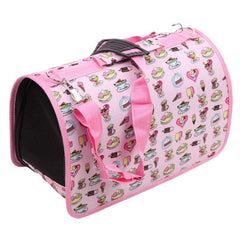 Portable Shoulder Strap Pet Carrier Bag in 2 Styles for Small Pets