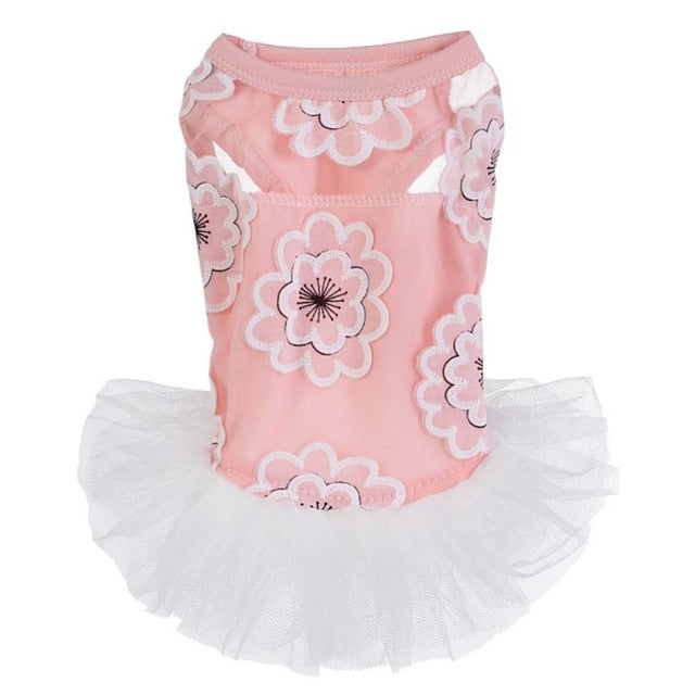 Exquisite Floral Print Ballet Tutu Skirt / Dresses in 4 Beautiful Patterns