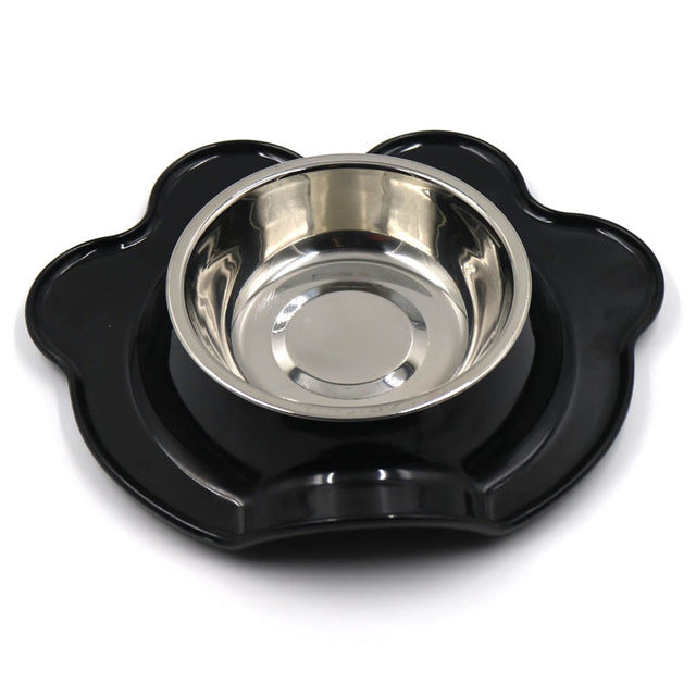 Stainless Steel and Melamine Feeding Bowls in 4 colors for small pets