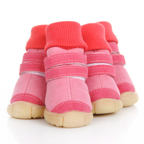 Fashionable High Warm Pet Boots in 2 Colors