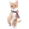 Multicolor Adjustable Neck Tie Pet Collars - One Size