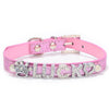 Personalized Bling Name Collars