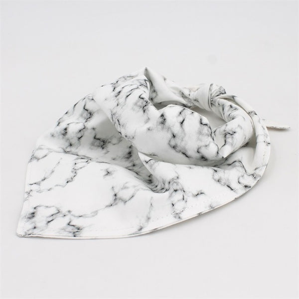 Marble Dog Collar w/ Bow Tie