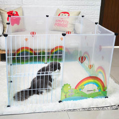 Sleeping Playing Kennel House For Dogs