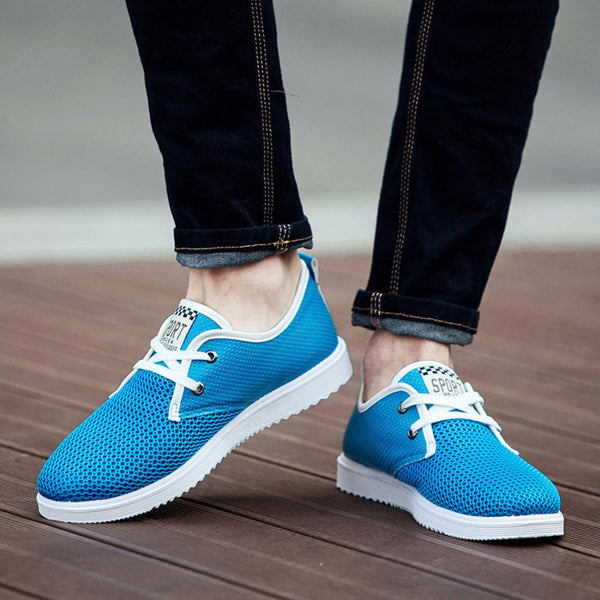 a4524be927 ... ZJNNK Hot Men Shoes Breathable Male Casual Shoes Fashion Chaussure  Homme Soft Zapatos Hombre Summer Men ...