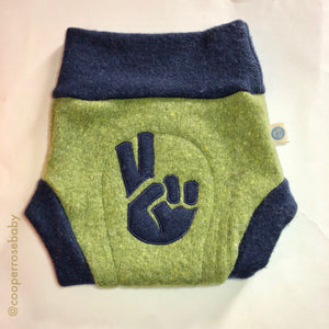 Wool Diaper Covers - 2 Fingers